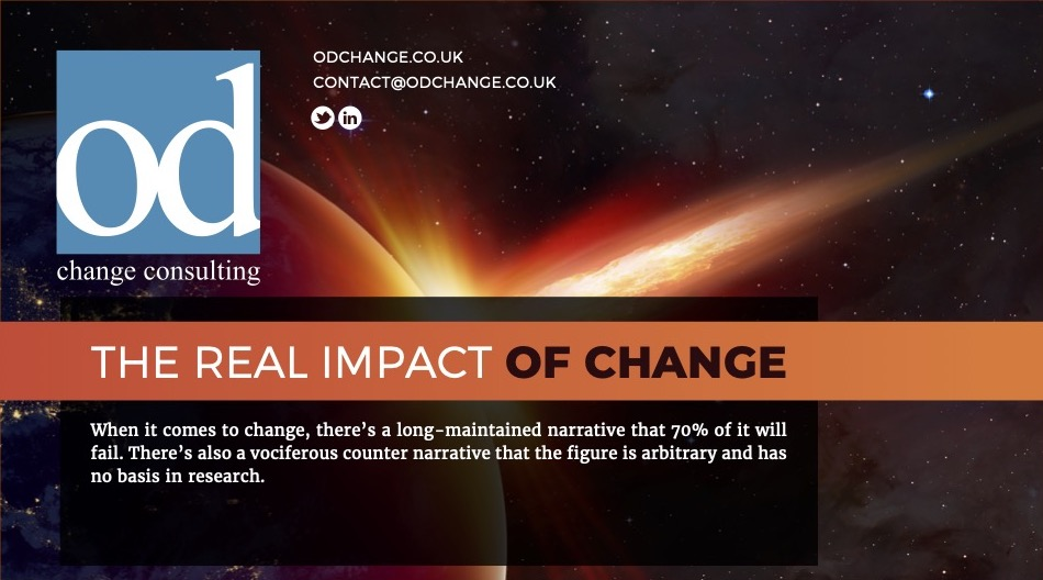 THE REAL IMPACT OF CHANGE